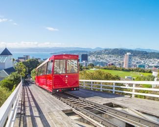 A Wellington cable car.